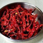 how to dry chili