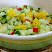 cucumber orange salsa