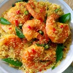 delicious butter prawn