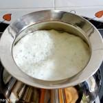 boil the milk
