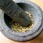 green beans dry roast