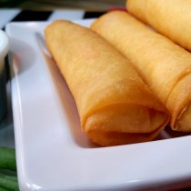Homemade spring roll