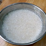 making rice flour at home