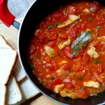 chicken with red pepper stew recipe