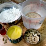 Halwa ingredients