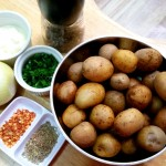 creamy baby potatoes recipe